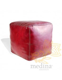 Pouf marocain cube...