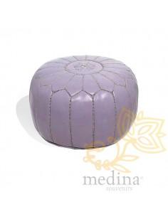 Pouf design cuir marocain...