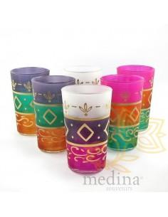 Verres a thé de Marrakech,...