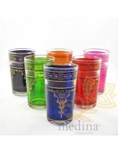 Verres a thé marocains...
