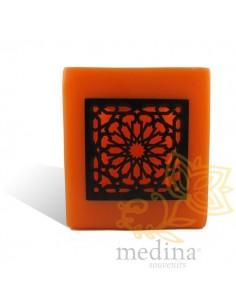 Photophore cube orange...