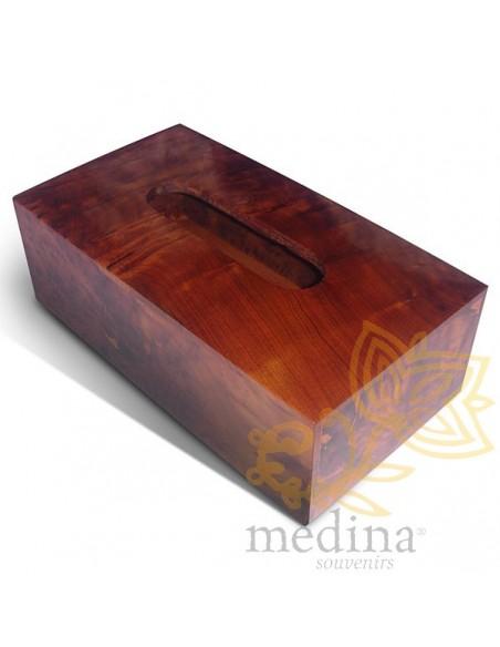 objets d co bois bois thuya boite mouchoirs luna. Black Bedroom Furniture Sets. Home Design Ideas