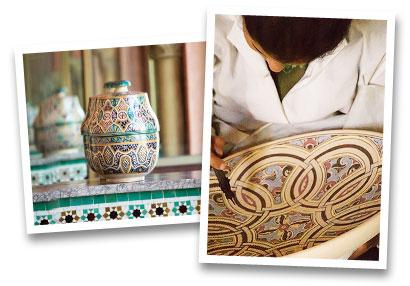 Artisanat Medina souvenirs